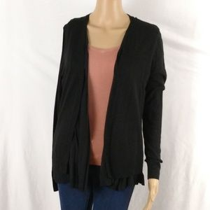 Ann Taylor cardigan size medium black